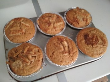 Muffins stroopwafel Photo 1